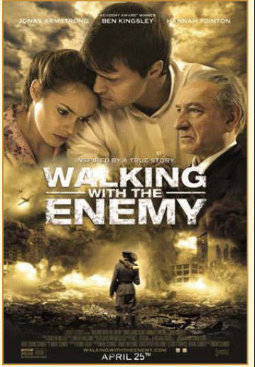 Walking With The Enemy one-sheet