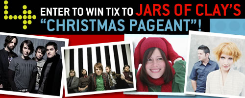 """Enter to Win Tix to Jars of Clay's """"Christmas Pageant""""!"""