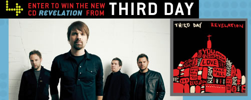 Enter to win Third Day's new CD, Revelation!