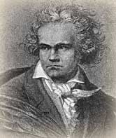 Premiere of Beethoven's