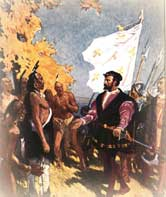 Jacques Cartier Landed in Newfoundland