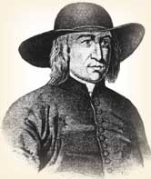 George Fox, founder of the Quakers