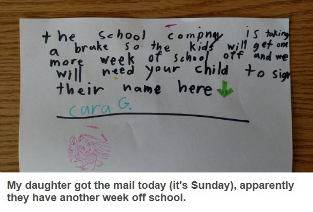 And Finally This Kid Is Going Places