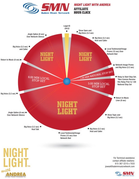 Night Light™ with Andrea Clock