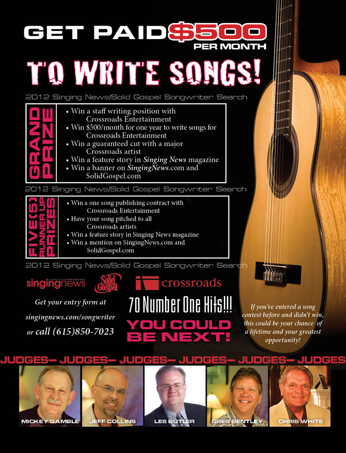songwriting contest free entry
