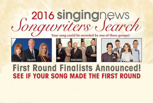 Songwriter Search First Round Finalists Announced