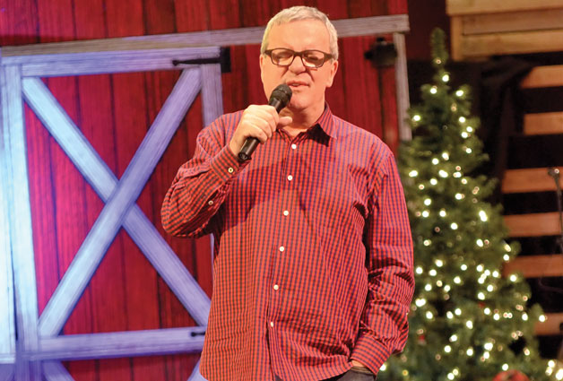 Mark Lowry Sings For Foster Children's Christmas Party