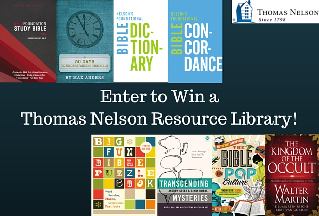 Enter To Win a Thomas Nelson Resource Library!