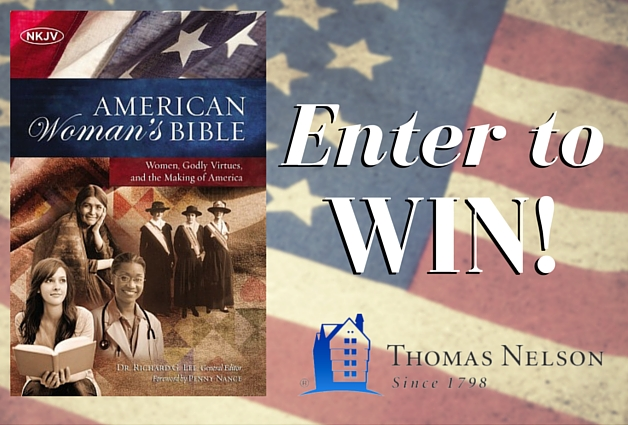 Enter To Win an American Woman's Bible