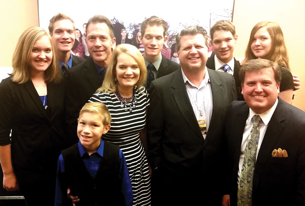 The Allen Family Signs With Chapel Valley Music Group