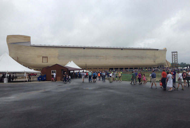 Southern Gospel Artists Perform At Ark Encounter Ribbon Cutting Ceremony