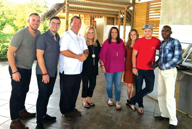 Karen Peck and New River Ministers In Honduras For First Time
