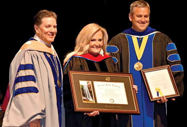 Karen Peck Gooch Receives Honorary Doctorate Degree