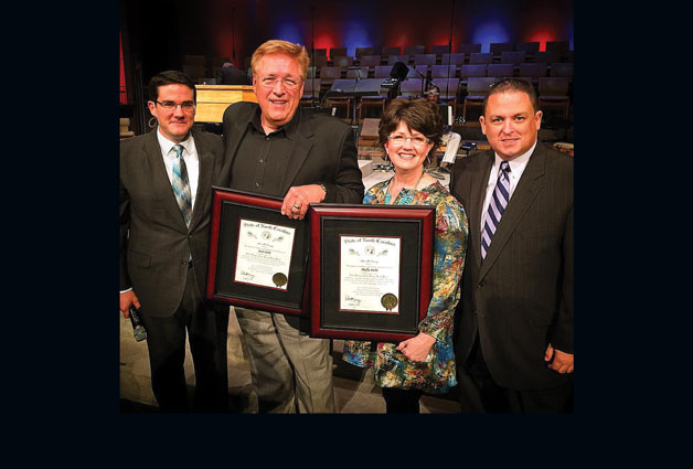 Rick and Phyllis Webb Honored with the Order of the Long Leaf Pine