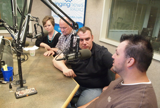 The Williamsons on Singing News Radio - Part 1