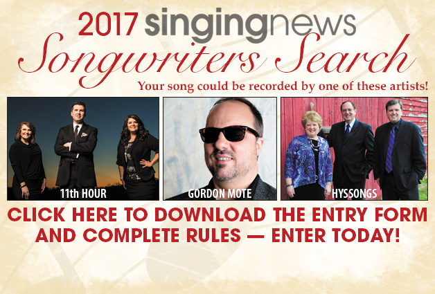 2017 Singing News Songwriters Search Now Open