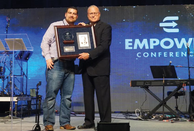 Dennis Erwin Honored For Ministry Service