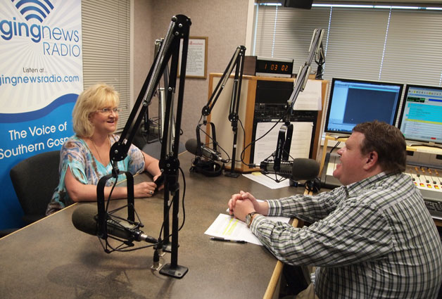 Chonda Pierce at Singing News Radio - Part 1