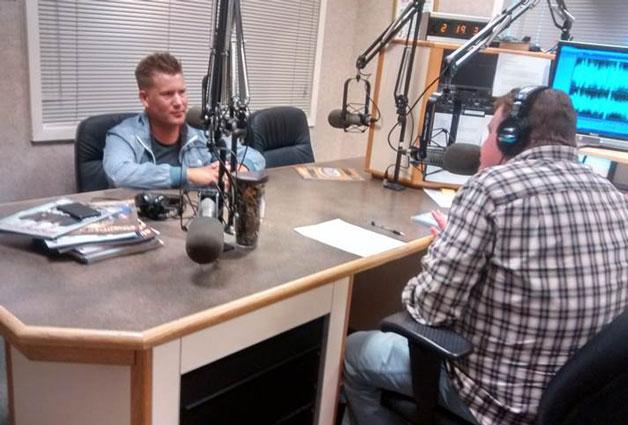 Joseph Habedank at Singing News Radio - Part 1