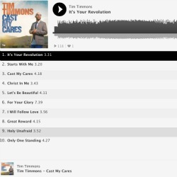 Stream Tim Timmon's Cast My Cares album here!