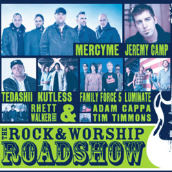 Rock & Worship Roadshow 2013 Lineup to Feature MercyMe, Jeremy Camp, Tedashii and More
