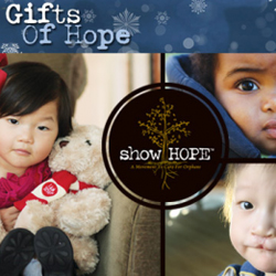 Give The Gift Of HOPE This Christmas Season With Show Hope's Gift Of Giving Campaign