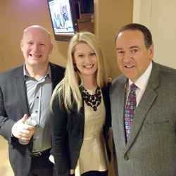 Planetshakers' Russell & Sam Evans Discuss With Mike Huckabee Planetshakers Limitless Conference