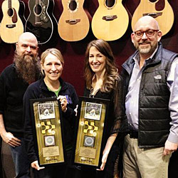 Laura Story's Smash Hit &amp;quot;Blessings&amp;quot; Certified Gold