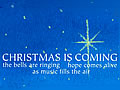 Christmas Is Coming [LYRIC]
