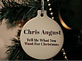 Tell Me What You Want For Christmas [LYRIC]