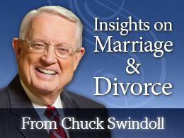 Insights on Marriage and Divorce with Chuck Swindoll