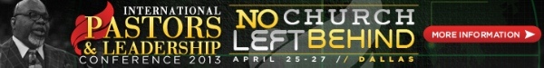 No Church Left Behind - International Pastors & Leadership Conference 2013