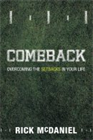 Comeback&amp;#58; Overcoming The Setbacks In Your Life  