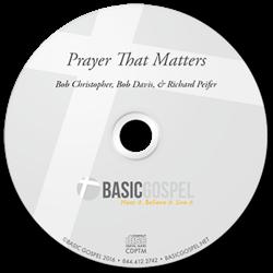 Experience God's perfect peace through prayer!
