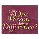 Can One Person Make a Difference?, Audio Series
