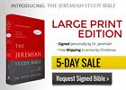 Jeremiah Study Bible - 5 DAY SALE