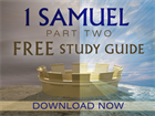 1 Samuel, Part 2 Study Guide