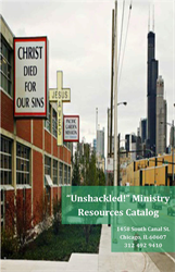 """Unshackled!"" Ministry Resources Catalog"