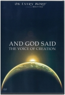 """And God Said: The Voice of Creation"" DVD"