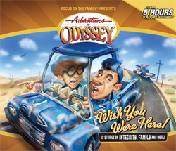 Adventures in Odyssey: The Mystery of the Lost Village 45 (2005, CD) NEW