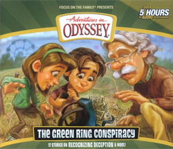 Adventures In Odyssey Audio Cd 53 The Green Ring
