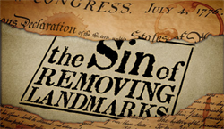 The Sin of Removing Landmarks