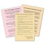 Marriage Parchment Sheets