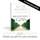 """Believing God"" Book by Beth Moore"