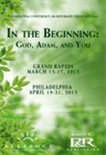 In the Beginning: God, Adam, and You