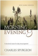 """Morning and Evening Devotions"" Devotional Book"