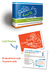 God IS&amp;#8230;Family Devotional Cards