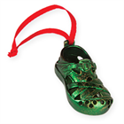 Christmas Shoe Green Ornament