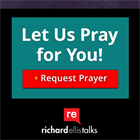 Let Us Pray For You!