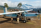 Planes are the only safe way to reach many villages in Papua.